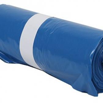 blauw zak